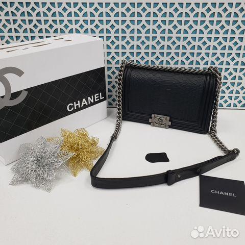 4aadf7db60ea Женская сумка - клатч Chanel boy купить в Москве на Avito ...