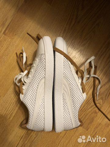 separation shoes 080ae 3907c Кеды Puma Clyde Colorblock 2 Белые купить в Санкт-Петербурге ...