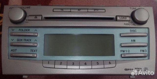 Продам штатную магнитолу Toyota Camry acv40 89059596847 купить 1