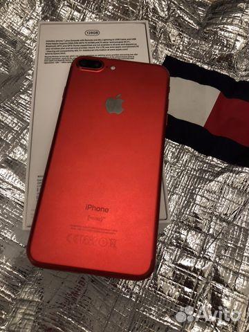iPhone 7 Plus 128gb (Red product), с комплектом