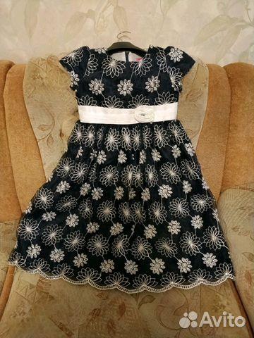 Платье нарядное со стразами Swarovski 7-10 лет  купить 1