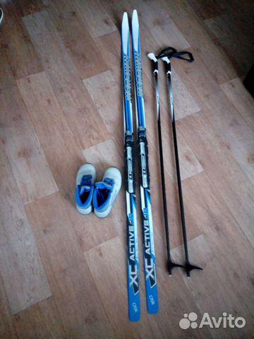 1e33a33bd9d5 Продается комплект беговых лыж детских купить в Саратовской области ...
