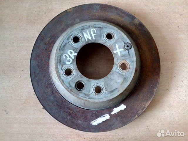 89026196331 Тормозной диск задний Volkswagen Touareg NF 3.6