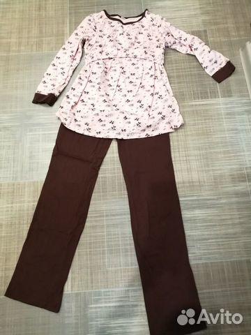 Пижама для беременных и кормящих 89113316595 купить 1