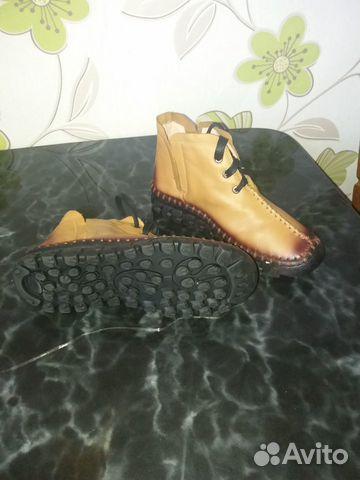 Ботинки женские кожаные  89637385526 купить 4