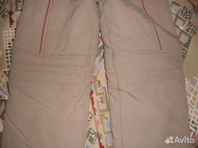 Зимние штаны(рост 116)