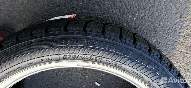 Bridgestone Blizzak RFT 275/40 R20 Run Flat 102 Q 89182762202 купить 3