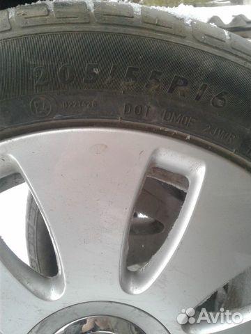Шины с дисками - литье б/у ауди 89832553600 купить 2