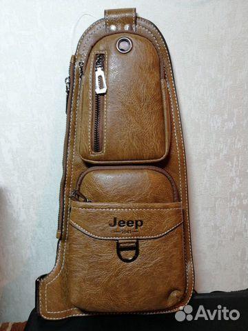Кожаная мужская сумка jeep 89128471729 купить 1