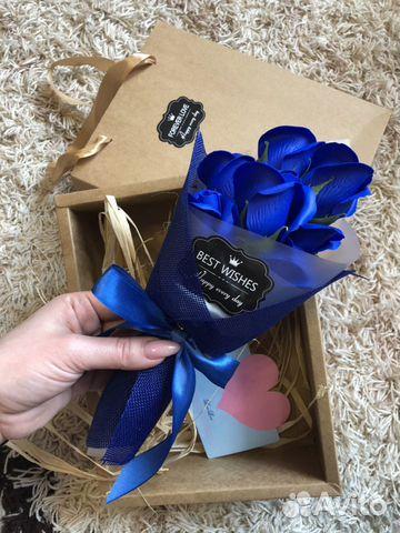 Букет из роз (мыльные розы) подарочный набор из ро  89157798590 купить 3