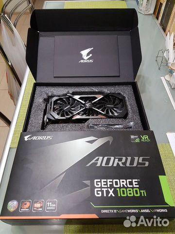 Видеокарта GTX-1080ti 11gb. aorus  89063137454 купить 1