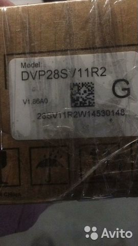 DVP-SV2 DVP28SV11R2
