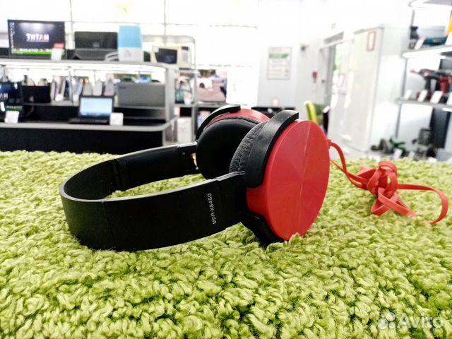 Наушники Sony MDR-XB450AP(кр90б)  89914629533 купить 1