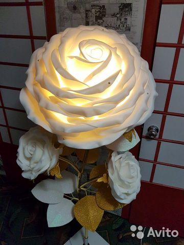 Торшер Ростовые цветы Роза  89009049190 купить 10