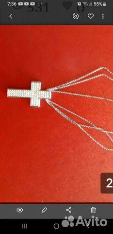 Крестик на цепочке  89144622673 купить 1