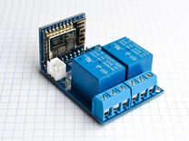 Модуль с Wi-Fi ESP8266 на два реле