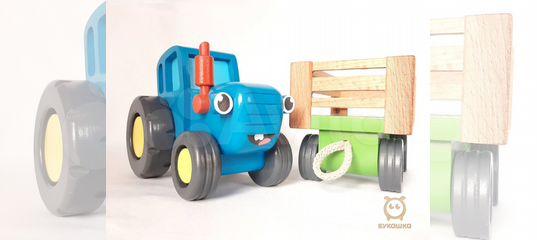 Настоящий Синий трактор из мультика + книжка купить в ...
