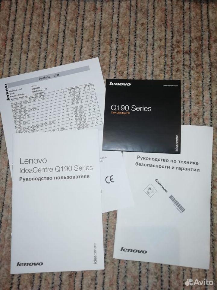 Новый настольный компьютер Неттоп Lenovo IdeaCetn  89025051199 купить 7