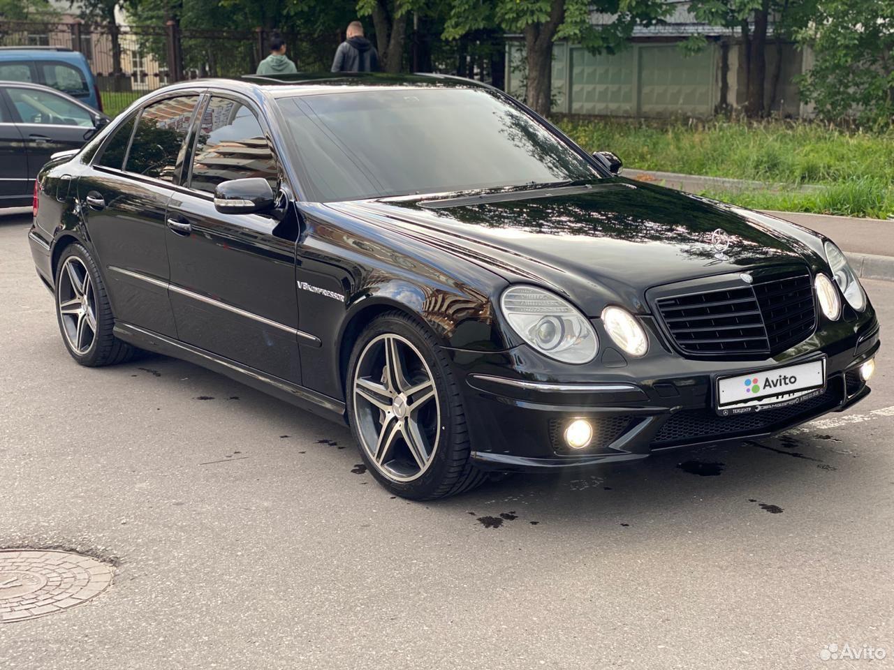 Mercedes-Benz E-klass AMG 2003  89635921167 köp 5