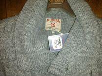 Новый серый свитер Rusty Neal R-Neal с воротом S