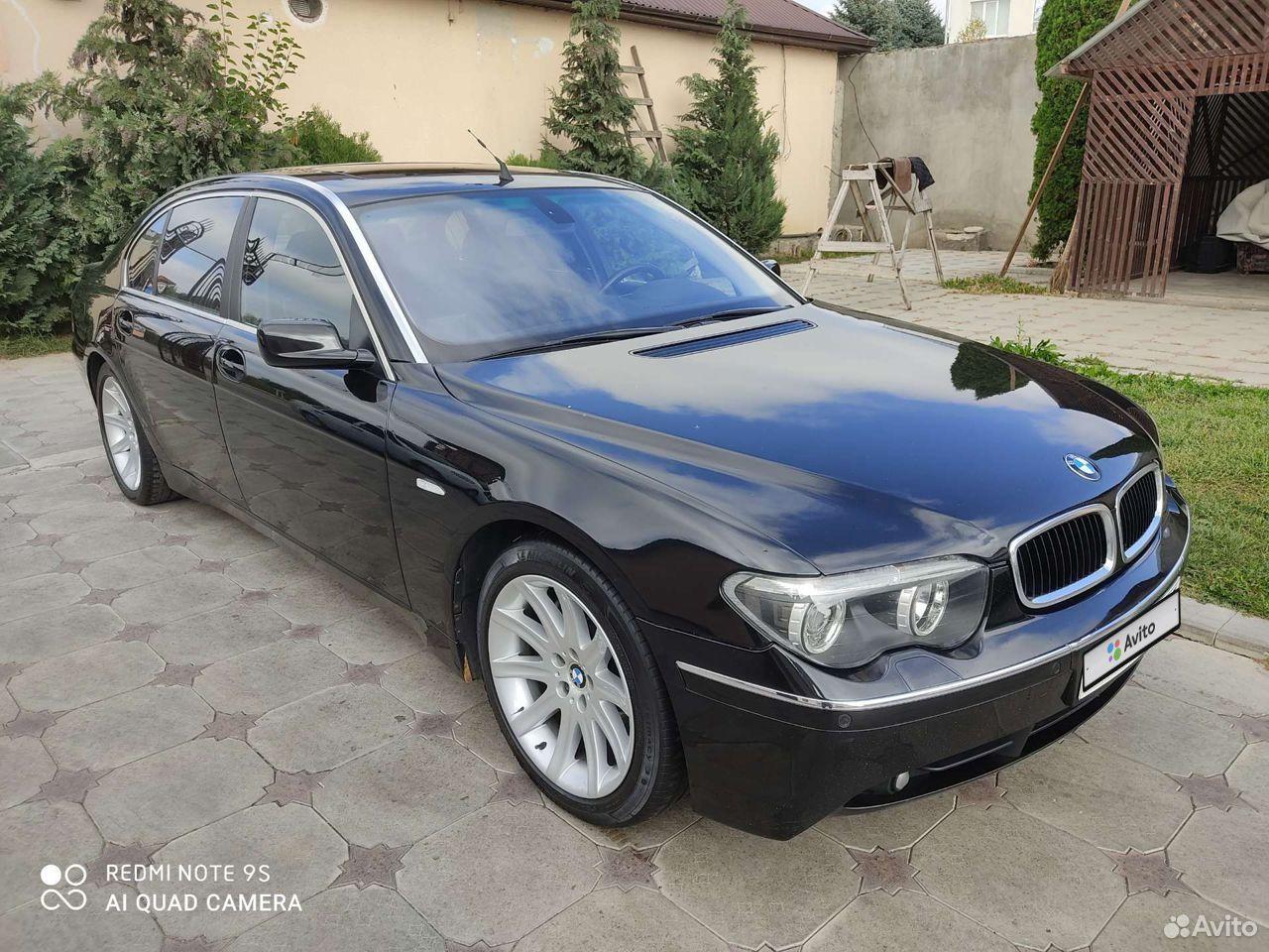 BMW 7 серия, 2004  89050052973 купить 1