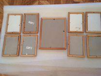 Рамки деревянные со стеклом — Мебель и интерьер в Москве