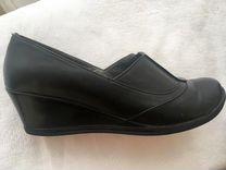 Кожаные комфортные туфли в идеальном состоянии