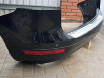 Оригинальный задний бампер в сборе VW Touareg 2