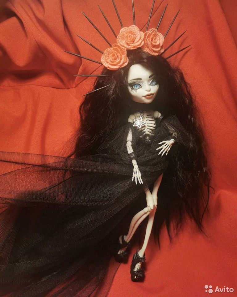 Ооак кукла Скелита  89182777143 купить 2
