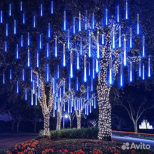 Гирлянды на дерево новогоднее оформление  89613169763 купить 3