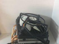 Охлаждение процессора башня Intel,AMD 130W