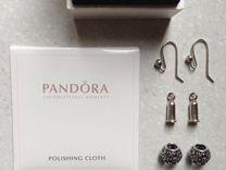 Серьги Pandora