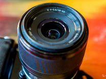 Sony sel 18-50 f/4-5.6