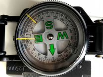 Компас Rothco Military Marching Compass