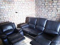 Кожаная мебель Б/У из Финляндии