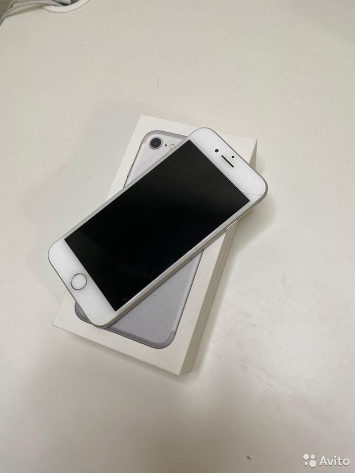 iPhone 7 (серебристый) 32 GB  89002455392 купить 2