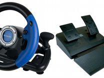 Продам игровой руль Defender challenge turbo gt