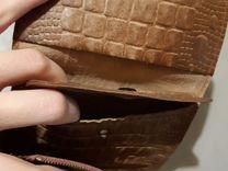 Кошелек старинный, нат. кожа — Одежда, обувь, аксессуары в Санкт-Петербурге