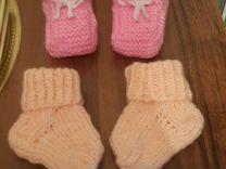 Свяжу для Ваших малышей: носочки, пинетки, шапочки