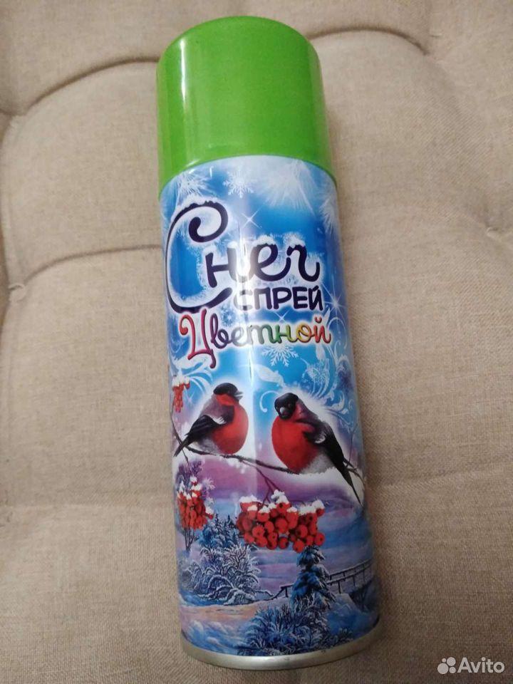 Спрей для новогоднего декора искусственный снег  89027931504 купить 1