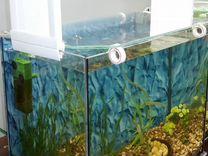 Продам новый, работающий аквариум на 30л