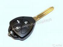 Ключ Toyota Camry v40 3 кнопки