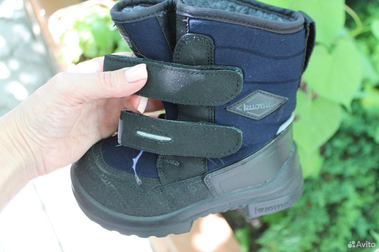 Ботинки для мальчика kuoma (зима), 28 размер  89782572220 купить 2