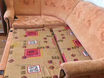 Диван угловой+кресло
