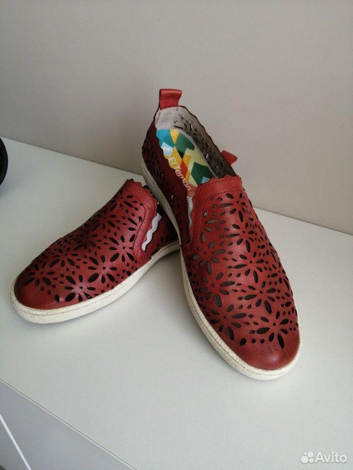 Слипоны, ботинки(кожа) 40 размер  89521154811 купить 2