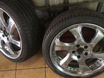 Комплект колёс Enkei Ame Shalen WX и Pirelli pZerо