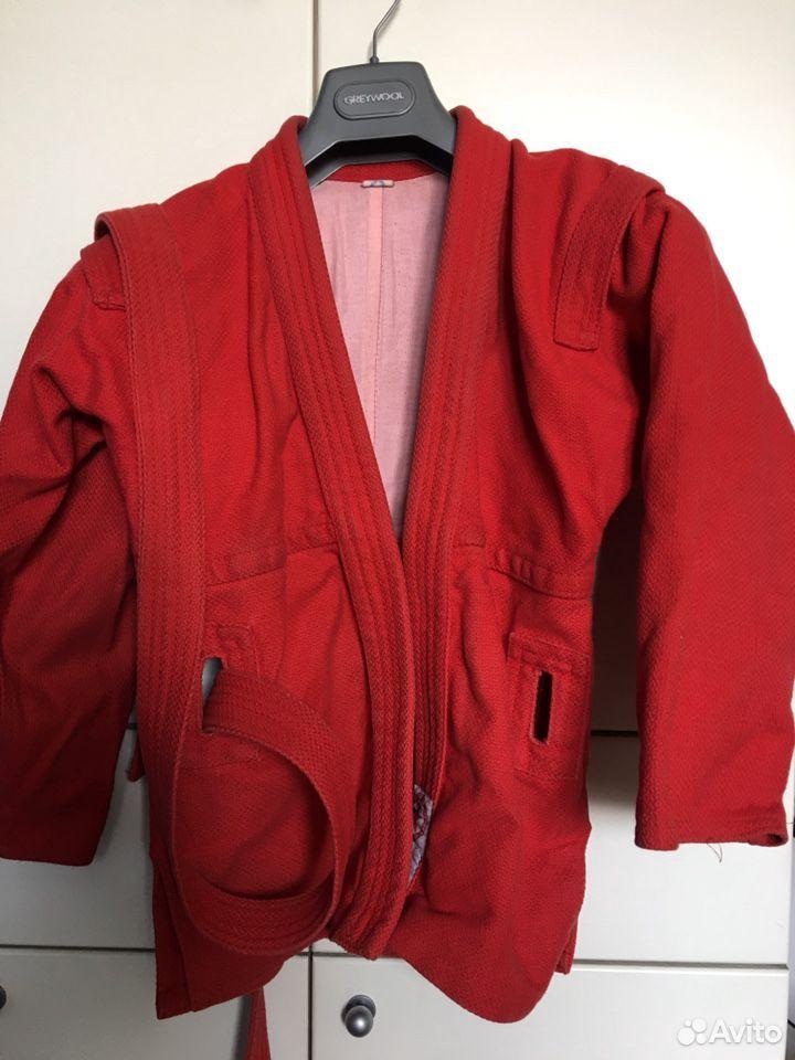 Самбовка куртка для самбо  89021607750 купить 1