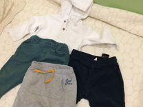 Двое джинс фирмы нм и стильное трико HM