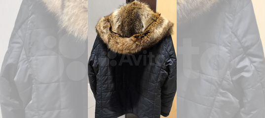 9e384f5b2e5ea Куртка мужская yierman зимняя с енотовым мехом купить в Тверской области на  Avito — Объявления на сайте Авито
