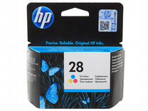 Картридж струйный HP №28 color